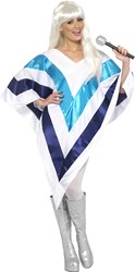 ABBA Super Trooper Poncho voor dames