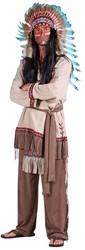 Indianen Kostuum White Feather Luxe