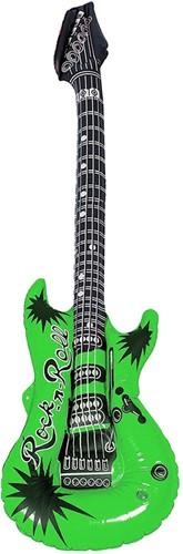 Opblaasbare Gitaar Groen (100cm)