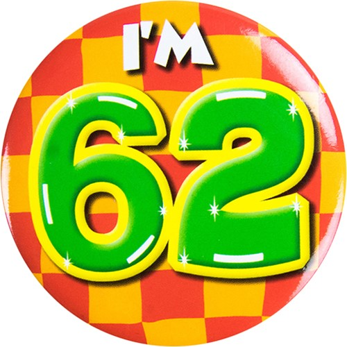 Button 62 jaar