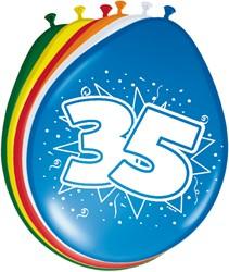 Ballonnen 35jaar 8st