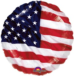 Folieballon Stars & Stripes (43cm)