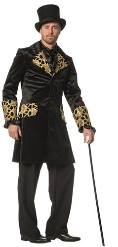 Herenjas Zwart-Goud Luxe