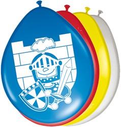 Ballonnen 8st Ridder