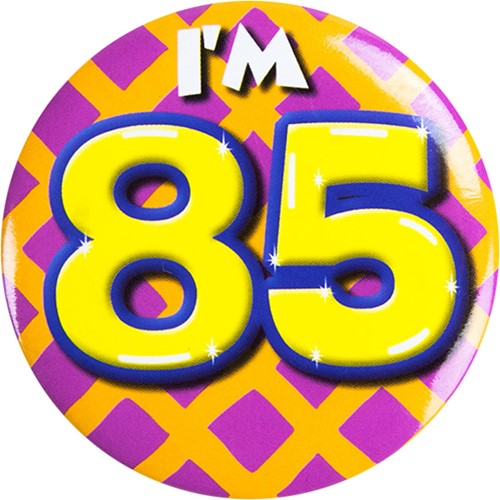 Button 85 jaar