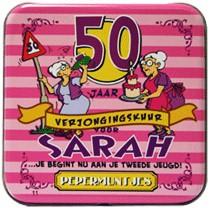 Pocket Tin Sarah