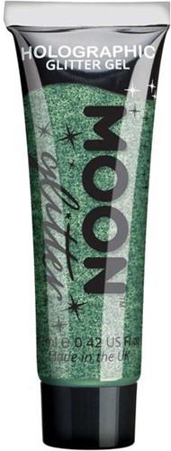 Holographic Glittergel Fijn Groen (12ml)