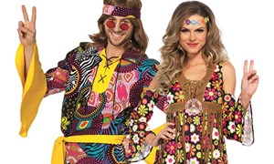 Carnavalsaccessoires Hippie & Flower Power