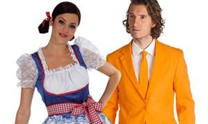 Carnavalsaccessoires Holland & Oranje