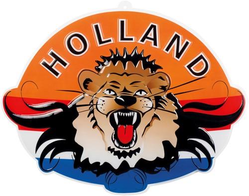 Wanddeco Leeuwenkop Holland