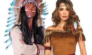 Indianen kleding voor dames en heren en accessoires kopen bij Carnavalsland