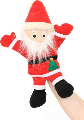 Kerstman Handpop Pluche