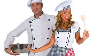 Kok en kokkinkostuums kopen bij Carnavalsland