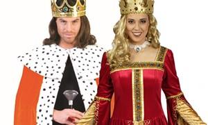 Koning en koningin kopen bij Carnavalsland