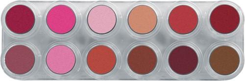 Grimas Lipstick Pearl 12 Palet LP