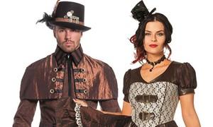Steampunk kleding voor dames en heren kopen bij Carnavalsland