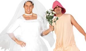 Vrijgezellendag kostuums en sjerpen online kopen bij Carnavalsland