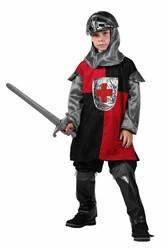 Kinder Ridderkostuum Rood-Zwart 4 dlg.